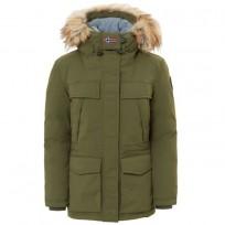 Парка Skidoo Open Long 2 Green Musk - Интернет магазин брендовой одежды BOMBABRANDS.RU