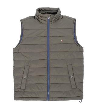 Жилет утепленный Ripstop vest khaki - Интернет магазин брендовой одежды BOMBABRANDS.RU