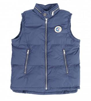 Жилет пуховый N0Y6G4 СИНИЙ - Интернет магазин брендовой одежды BOMBABRANDS.RU