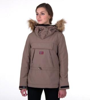 Куртка-анорак Skidoo Mire with fur - Интернет магазин брендовой одежды BOMBABRANDS.RU