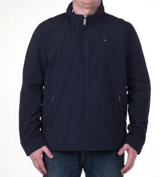 Ветровка с капюшоном в воротнике синяя - Интернет магазин брендовой одежды BOMBABRANDS.RU