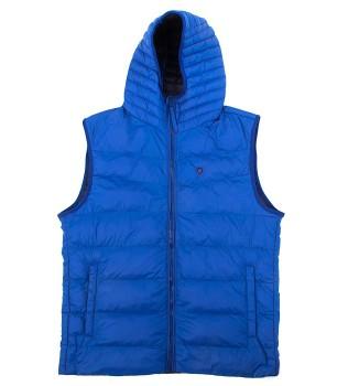 Жилет 4Seasons Blue with hood  - Интернет магазин брендовой одежды BOMBABRANDS.RU