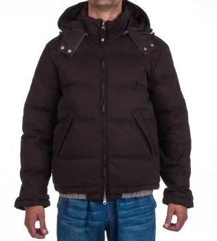 Пуховик с капюшоном RN103723 черный - Интернет магазин брендовой одежды BOMBABRANDS.RU