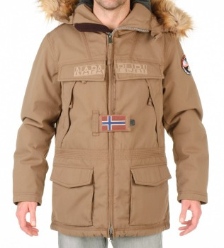 Куртка Skidoo Open Squirrel with fur - Интернет магазин брендовой одежды BOMBABRANDS.RU