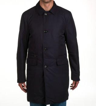Плащ утепленный Kenzie Navy - Интернет магазин брендовой одежды BOMBABRANDS.RU
