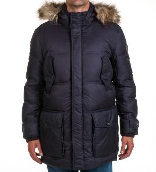 Пуховик Finley синий - Интернет магазин брендовой одежды BOMBABRANDS.RU