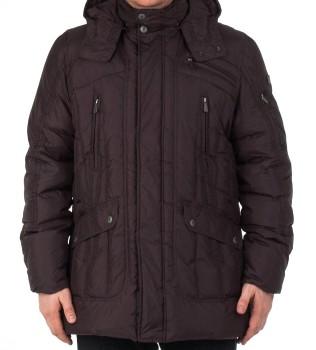 Пуховик 527084 цвет антрацит  - Интернет магазин брендовой одежды BOMBABRANDS.RU