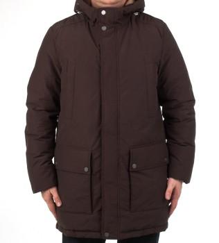 Куртка удлиненная m6428k dark grey - Интернет магазин брендовой одежды BOMBABRANDS.RU