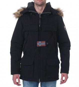 Куртка Skidoo Open Black - Интернет магазин брендовой одежды BOMBABRANDS.RU