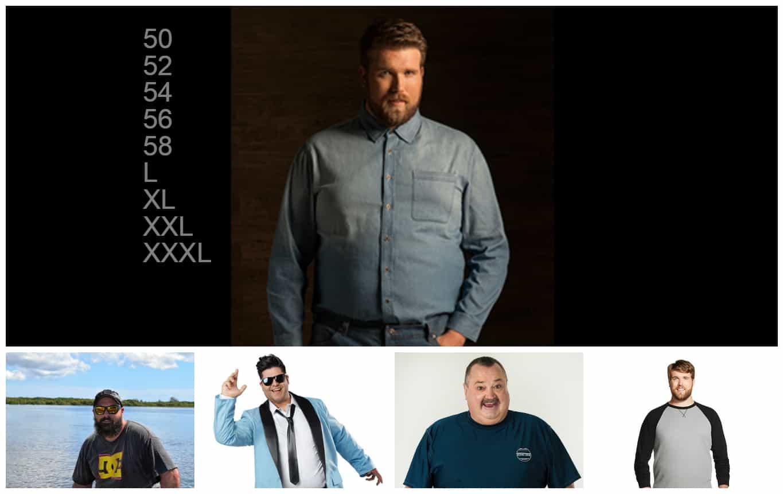 Производители Мужской Одежды Больших Размеров Доставка